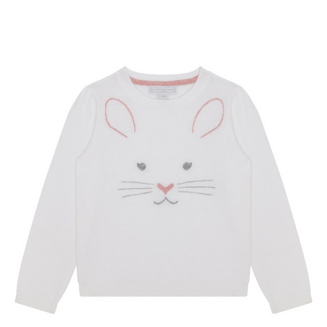 Bunny Face Sweater Kids, ${color}