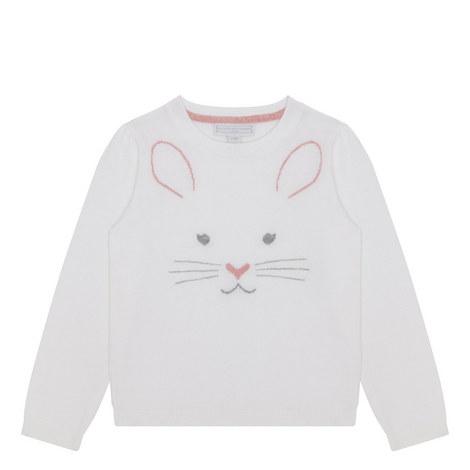 Bunny Face Sweater Kids, ${color}