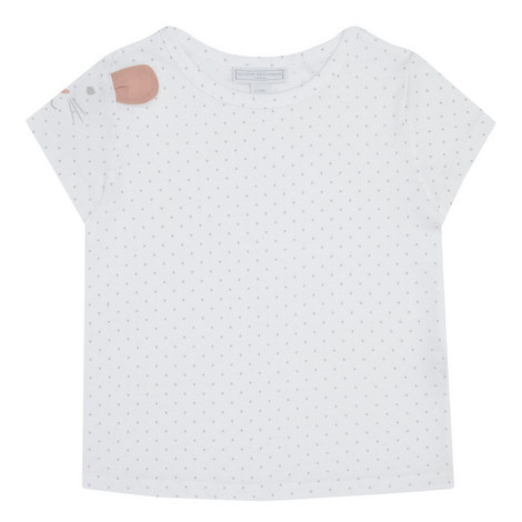 Bunny Sleeve T-Shirt Toddler, ${color}