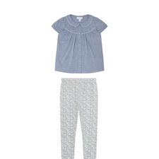 Short Sleeve Shirt and Leggings Set Toddler
