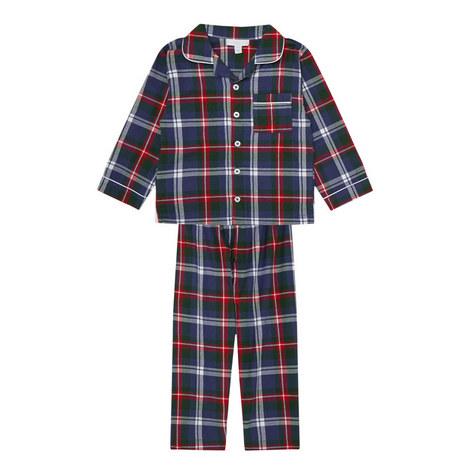 Flannel Check Pyjamas Toddler, ${color}