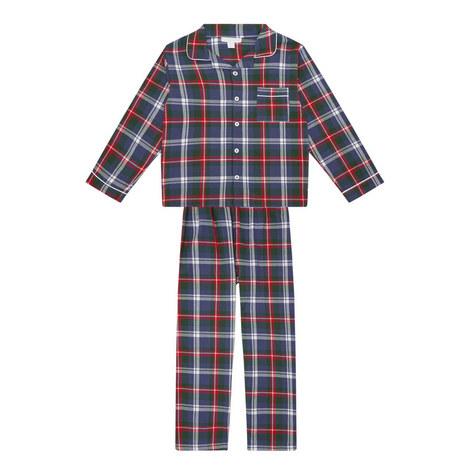 Flannel Check Pyjamas Kids, ${color}