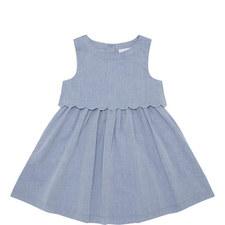 Scalloped Hem Dress Toddler