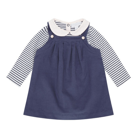 Corduroy Dress and Bodysuit Set Baby, ${color}