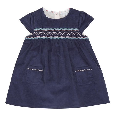 Cord Smock Dress Baby, ${color}