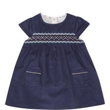 Cord Smock Dress Baby