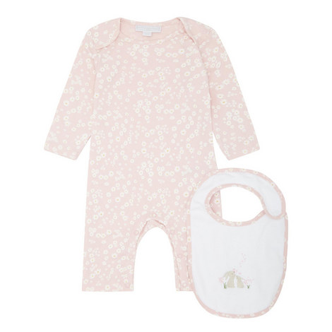 Daisy Sleepsuit and Bib Set Baby, ${color}