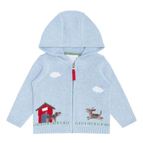 Farm Zip Hoodie Baby, ${color}