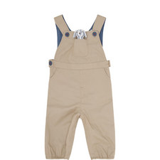 Dungarees & Toy Set Baby