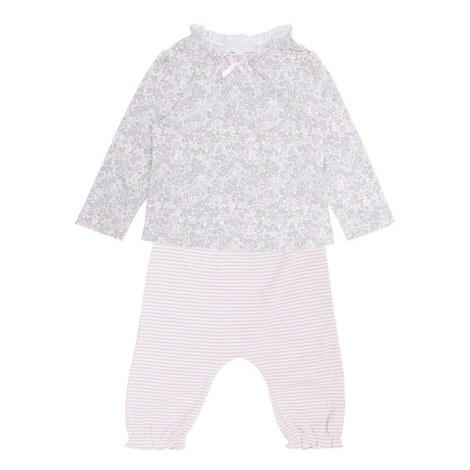 Evie Floral Pyjama Set Baby, ${color}