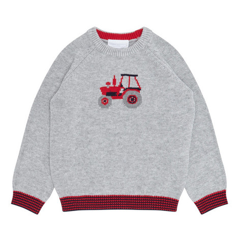 Tractor Sweater Toddler, ${color}