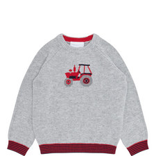Tractor Sweater Toddler