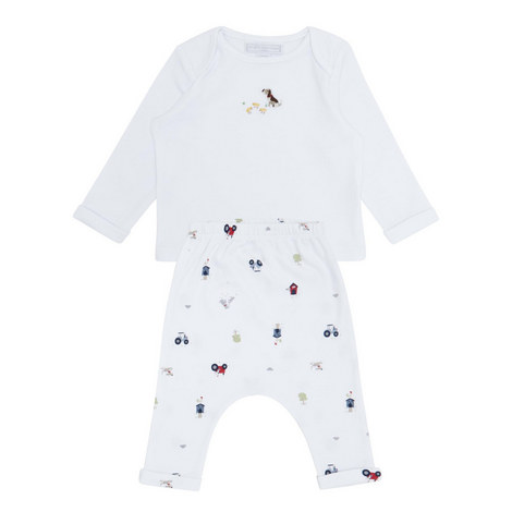 Farm Print Pyjamas Baby, ${color}