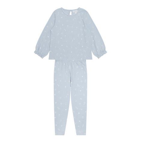 Star Print Pyjama Set Toddler, ${color}