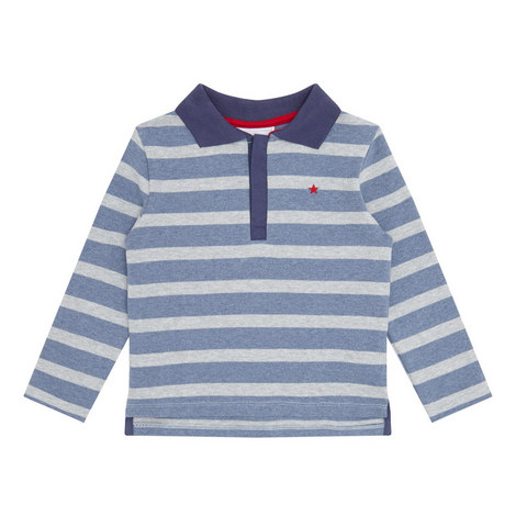 Striped Rugby Shirt Toddler, ${color}