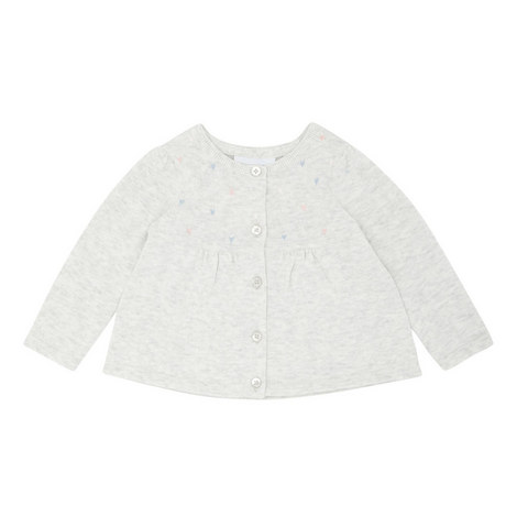 Embroidered Heart Cardigan Baby , ${color}