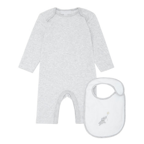 Indy Star Sleepsuit and Bib Set Baby, ${color}