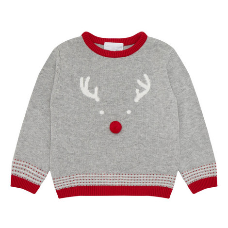 Reindeer Bobble Sweater, ${color}