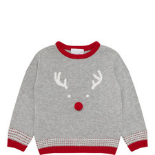 Reindeer Bobble Sweater Toddler
