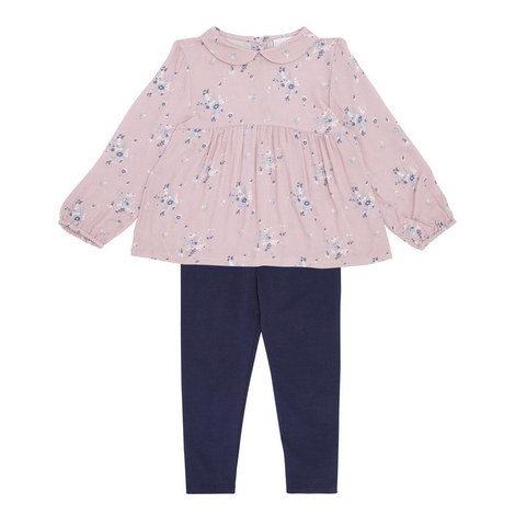 Floral Top and Legging Set Toddler, ${color}