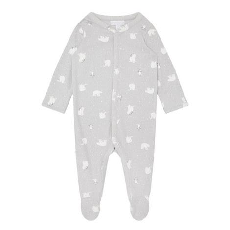Lumi Polar Bear Sleepsuit Baby, ${color}