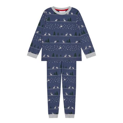 Winter Forest Reindeer Pyjamas Toddler, ${color}