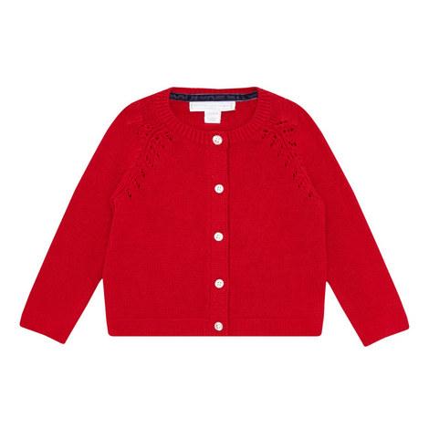 Bg Red Knit Cardi :-:18-24m, ${color}