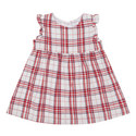 Sleeveless Check Dress Baby, ${color}