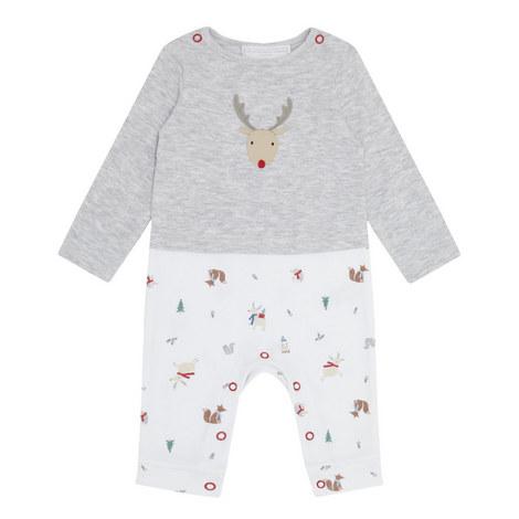 Reindeer Friend Sleepsuit Baby, ${color}