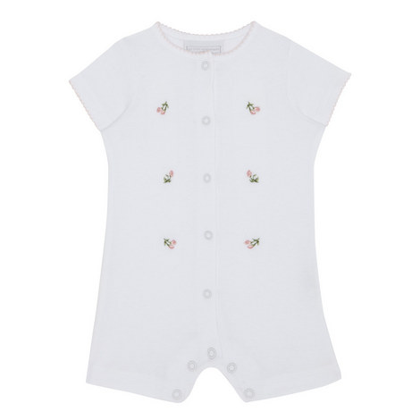 Rosebud Embroidered Shortie Baby, ${color}