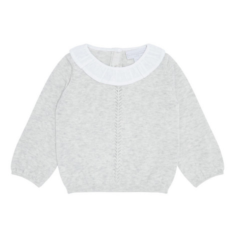 Frill Collar Sweater Baby, ${color}