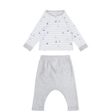 Sailboat Stripe Pyjamas Baby