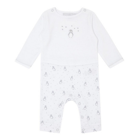 Penguin & Star Print Sleepsuit Baby, ${color}