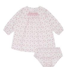 Strawberry Smock Dress Baby