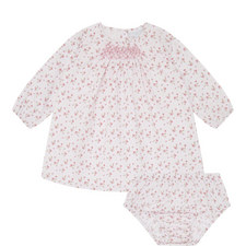 Strawberry Smock Dress Baby