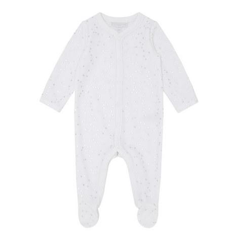 Star Print Velour Sleepsuit Baby, ${color}