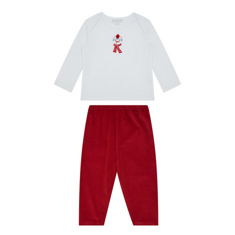 Snowman T-Shirt and Trousers Set Baby, ${color}