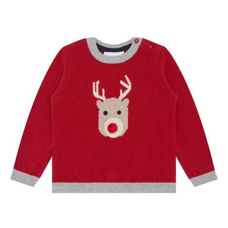 Reindeer Sweater Baby, ${color}
