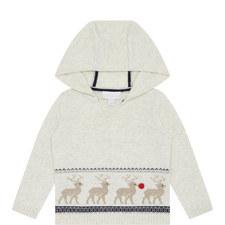 Hooded Reindeer Sweater Baby