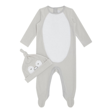 Snowy Penguin Sleepsuit Baby, ${color}