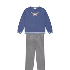 Owl Sweater and Trouser Set