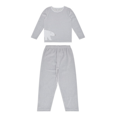 Lumi Velour Pyjama Set Kids, ${color}
