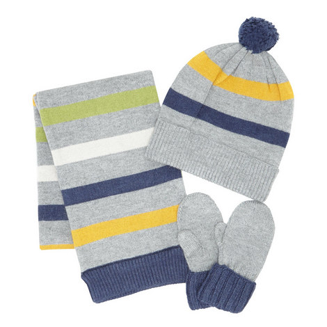Scarf Hat and Mittens Set Baby, ${color}