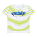 Striped Car Print T-Shirt Baby, ${color}