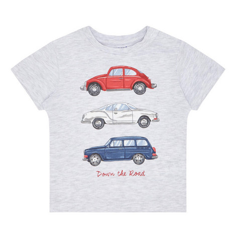 Car Print T-Shirt Baby, ${color}