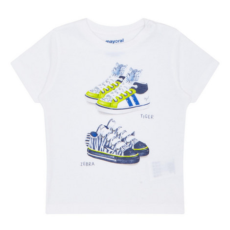 Trainer Print T-Shirt Baby, ${color}