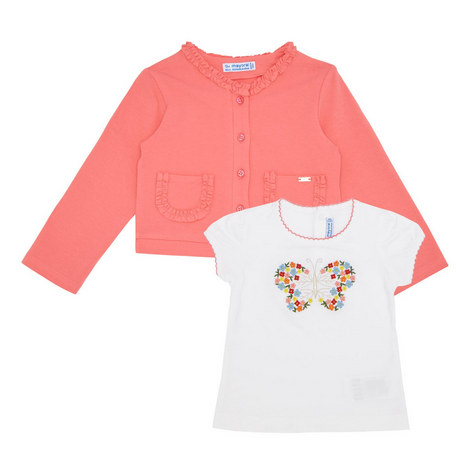 T-Shirt and Cardigan Set Baby, ${color}