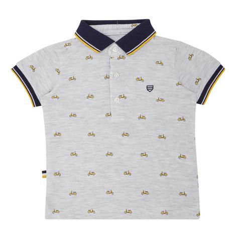 Vespa Polo Shirt Baby, ${color}