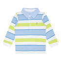 Striped Polo Shirt Baby, ${color}