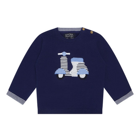 Crew Neck Sweater Baby, ${color}